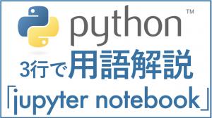 Python/用語解説/jupyter notebookとは